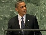 On 25 September 2012, US President Obama condemned Shia genocide in his landmark address to the United Nations General Assembly.